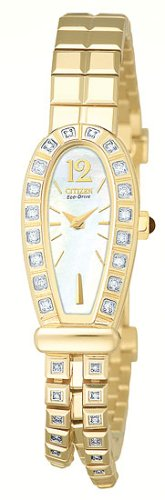 Citizen Women's EG2402-56D Silhouette Diamond Eco-Drive Watch