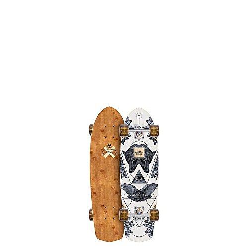 Arbor Bamboo Pocket Rocket Complete Skateboard, Black (Rocket Arbor Pocket Longboard)