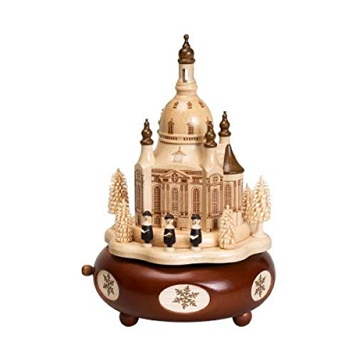 Spieluhr Holz - Spieldose Dresdner Frauenkirche Frauenkirche Frauenkirche – Handarbeit - 22cm – Erzgebirge – NEU B015FD238I Spieluhren f6e14d
