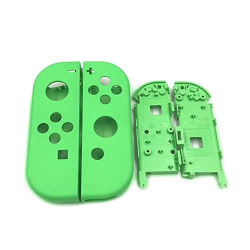Full Housing Faceplate Handle Shells Case Cover with Battery Middle Frame Shell Plate for Nintendo Switch Controller Joy-Con Faceplate - Housing Faceplate Frame
