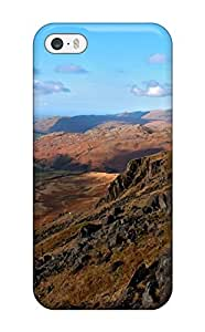 Aarooyner Iphone 5/5s Well-designed Hard Case Cover Hardknott Pass Rocks Dry Land Nature Other Protector
