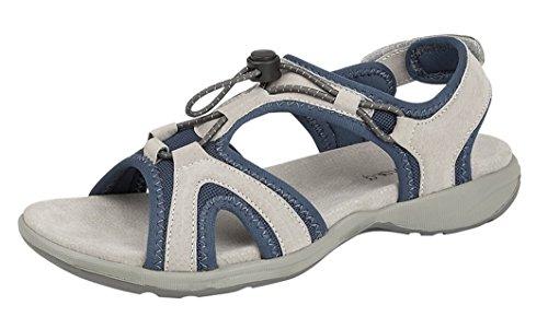 gris Boulevard Sandales bleu pour Femme AfftaqS