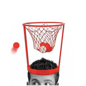 Basket Hoop Head - Basket Head Hoop Game - Head Basketball Hoop Game Circle Shot Plastic Basket Parent - Child Interactive Toys Hat ( Basket Hoop Hat -