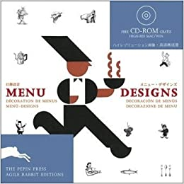 amazon menu designs agile rabbit editions free cd rom s pepin