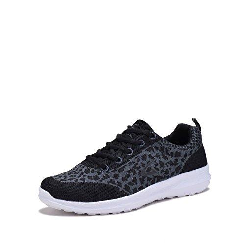 Dream Seek 6232L Glitter Women'sBreathable Running Shoes Black 6 For Sale