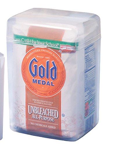 Home-X Flour Bag Plastic Storage Container
