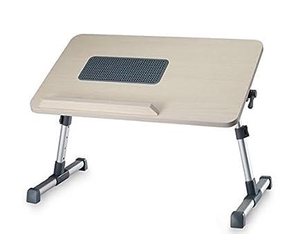 Tavolino Porta Pc Con Ventola Usb E Gambe Allungabili.Takestop Tavolino Con Ventola 3 Porte Usb Tavolo Base Pc