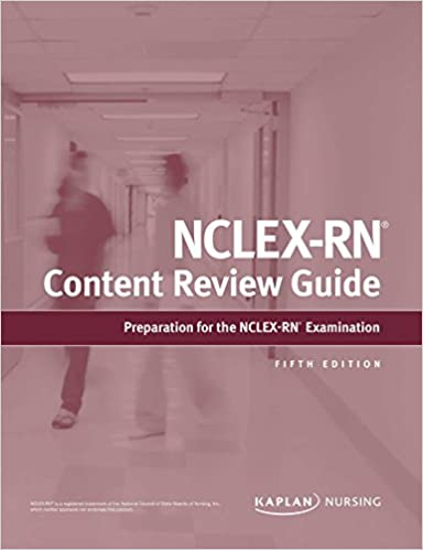 NCLEX-RN Content Review Guide (Kaplan Test Prep