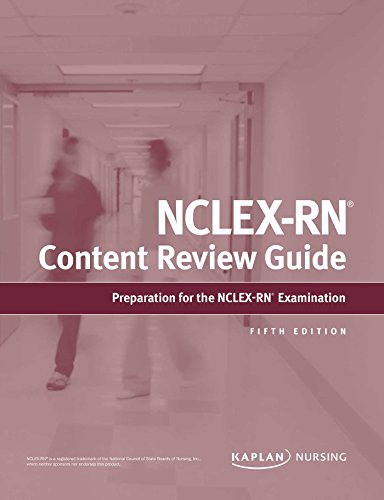 NCLEX-RN Content Review Guide (Kaplan Test Prep) cover