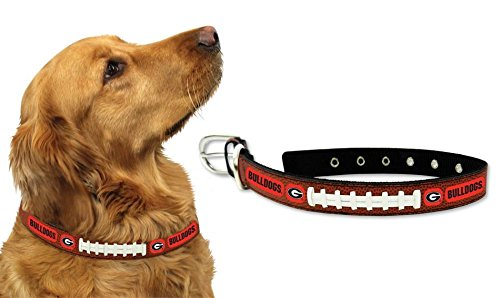 Georgia Bulldogs Official NCAA Large Pet Dog Collar by Gamewear