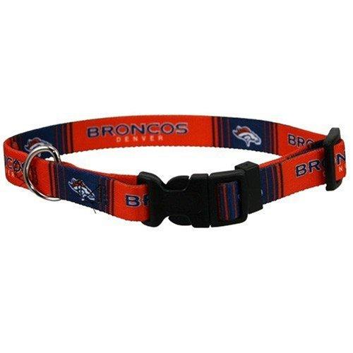 """NFL Football Denver Broncos Dog Collar Small 10""""-14"""""""
