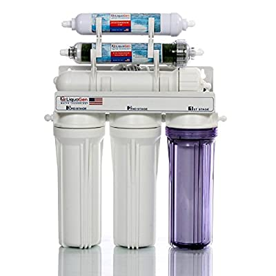 Portable - 6 Stage Dual Use (Drinking & Aquarium Reef/Deionization) - RO/DI Reverse Osmosis Water System - 150 GPD