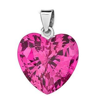 48bea07d0c0e ananth joyas plata de ley 925 Swarovski con forma de corazón colgante para  Mujer Rosa  Amazon.es  Joyería