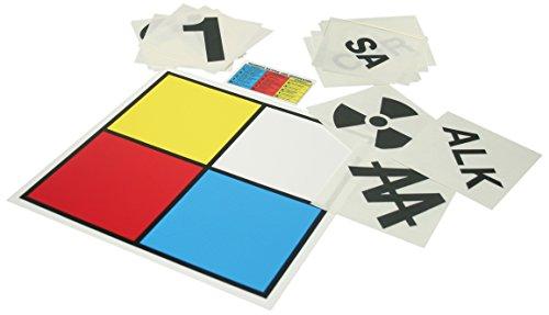 Nfpa Hazardous Materials - Accuform ZFD101PA Aluminum NFPA Blank Placard Kit, 10