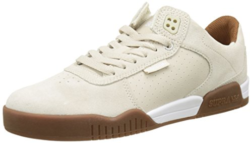 Supra Skate White Mens Shoes Gum Ellington 7vTTw1pqzc