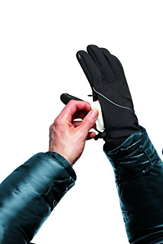 021276228868 - Thermatek Thermagear Wind and Water-resistant Men's Heated Gloves With TRI-LON PLUS Advanced Soft Shell Fleece- Includes 2 Heat Packs, X-Large carousel main 1