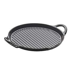 Küchenprofi 03 0759 10 26 - Sartén grill redonda (26 cm)