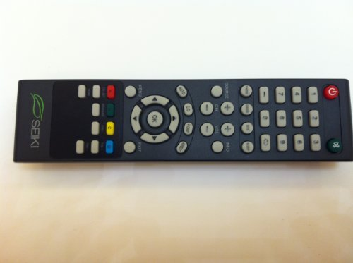 Brand NEW original seiki SEIKI TV Remote for SEIKI LC-32GC12F LC-46G68 SC552GS SC324FB SC32HT04 SE32HS01 SE65FY18 SE60GY24 SE65JY25 SE19HT01 SE40FY19 SE50UY04 LE-46GCA LE-55G77E SE39UY04 SE47FY19 LE-32SCL-C SE55UY04 SC22HY07 TV REMOTE----Original remote; do not any setting, only put into battery can work!