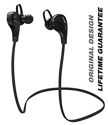 Bluetooth Headphones,COL V4.1 Wireless Sport Stereo In-Ear Noise Cancelling Sweatproof Headset with APT-X/Mic for Samsung Galaxy S7 S6 S5 iPhone 6s Plus and Android Phones