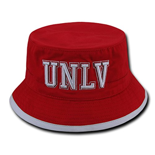 W Republic Apparel Freshman Bucket, UNLV, Red, (Unlv Hats For Men)