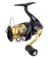 Shimano Sahara 2500 FI. Fishing reel, model 2017, The new Sahara FI is a powerful spinning reel which is developed to give the angler unparalleled durability at its price point. The durability of the Sahara stems from the cold forged Hagane G...