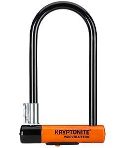 Kryptonite New-U Evolution Series 4 Standard Heavy Duty Bicycle U Lock Bike Lock (4-Inch x 9-Inch)