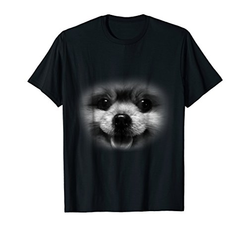 Cute Pomeranian Puppy Dog Face For Doggy Moms Animal Love T