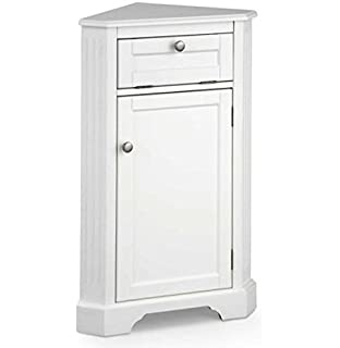 Superieur Weatherby Bathroom Corner Storage Cabinet (White)