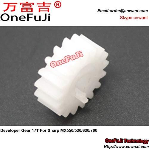 Printer Parts 10pcs I4 Developer Gear 17T for Sharp MX 550 520 620 700 MX550 MX520 MX620 MX700 by Yoton (Image #2)