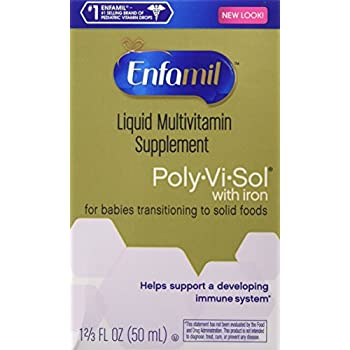 Amazon Com Enfamil Poly Vi Sol Multivitamin Supplement