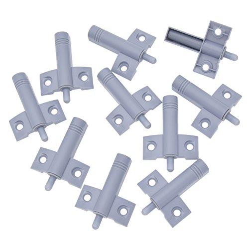 Kesheng 10Pcs Heavy Cabinet Door Drawer Soft Close Closer Damper Buffers ABS Plastic -
