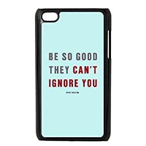 iPod Touch 4 Case Black quotes be so good ignore TR2460210