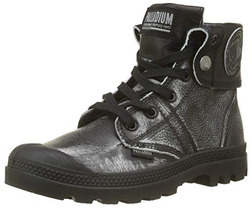 Pallabrouse Palladium Slouch H79 L2 Black Negro Mujer para Botas Silver Baggy gAAqTxdS