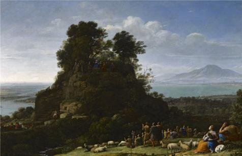 Oil Painting 'Claude Lorrain - The Sermo - 94 Mount Damper Shopping Results