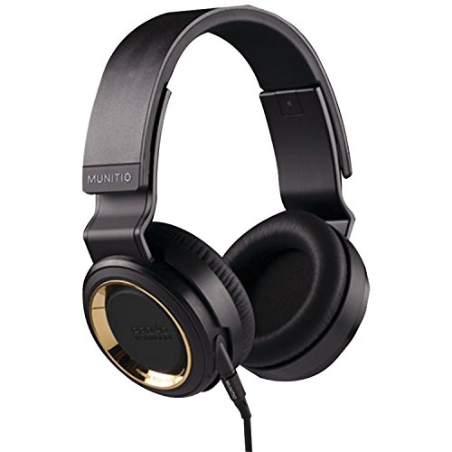 Munitio PRO40 High-Performance Headphones, Gold (Certified Refurbished)