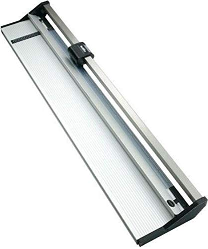 Rotatrim 60310 Technical Series 38'' (950 mm) Rotary Trimmer, 1/2'' Stainless Steel Guide Rail Completely Eliminates Head Swivel, All-metal Construction, Maximum Cut Depth of Up to 4mm by Keencut (Image #1)