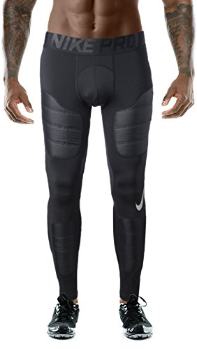 NIKE Pro Aeroloft Men's Hyperwarm Training Tights Black Size L Nike Lycra Shorts
