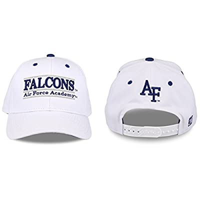 Air Force Falcons Adult Game Bar Adjustable Hat - White, by The Game