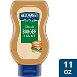 Hellmann's Classic Burger Sauce Condiment 11 oz