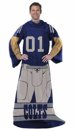 Northwest 024 Uniform NFL Indianapolis Colts Full Body Player Comfy Throw