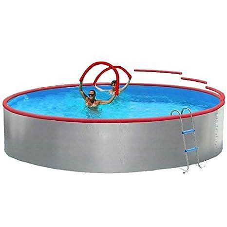 TOI - Piscina CIRCULAR FOAM 350 cm Filtro cartucho 2 m³/h: Amazon.es: Juguetes y juegos