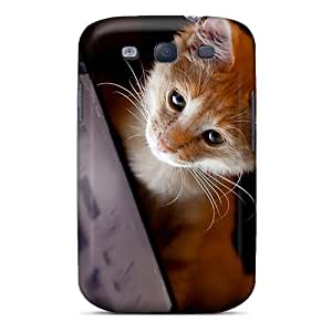 New Premium SPetry Kitty Likes Computer Skin Case Cover Excellent Fitted For Galaxy S3