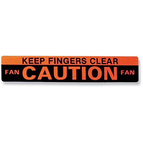 - Eckler's Premier Quality Products 50206538 Chevelle Decal Caution Fan