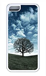 iPhone 5c case, Cute Raven Tree iPhone 5c Cover, iPhone 5c Cases, Soft Whtie iPhone 5c Covers