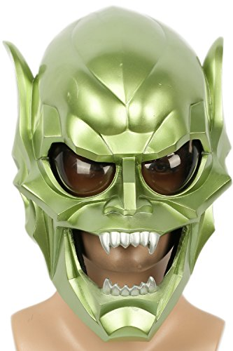 Goblin Mask Costume Props for Adult Halloween Cosplay Green ()