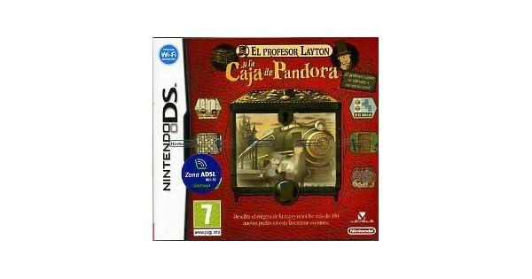 El Profesor Layton y La Caja de Pandora [Spanish Import] by Nintendo: Amazon.es: Videojuegos