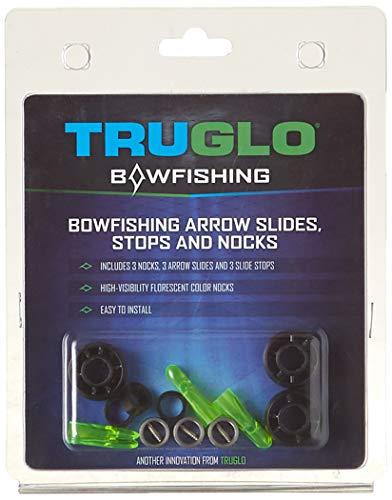 TRUGLO Bowfishing Arrow Slides/Stops/Nocks Set (3 Pack)