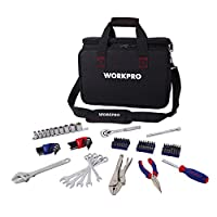 Deals on WORKPRO 143-piece Home Repair Tool Kit