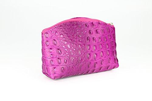 """""""Bellini"""" BELLI westhome pelle TROUSSE compone la Cassa - libera scelta dei colori - 18 x 13 x 5 cm (B x T) Rosa (rosa)"""