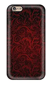 Tough Iphone IdS21004NTOt Cases Covers/ Cases For Iphone 6(red Hex)